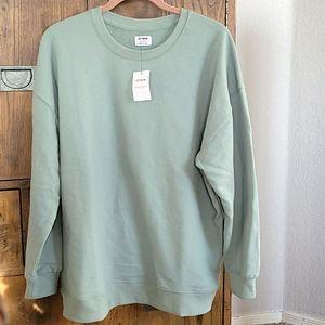 NWT Boyfriend Style Sweatshirt